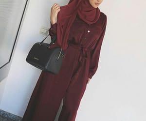 combinaison, hijab, and grena image