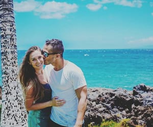 amor, couple, and kiss image
