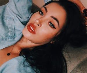 lipstick, makeup, and claudia alende image