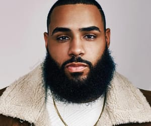 beard, lips, and mixed race image