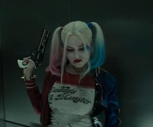 harley quinn, margot robbie, and movie image