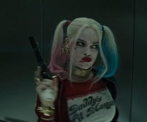 film, harley quinn, and movie image