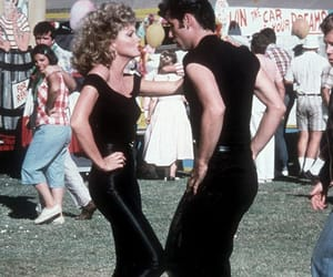 grease, Sandy, and John Travolta image