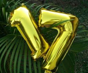 balloons, birthday, and fashion image