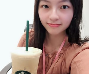 cafe, office, and selfie image