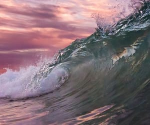 nature and wave image