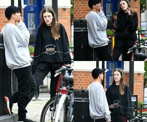 new, felicite tomlinson, and louis tomlinson image