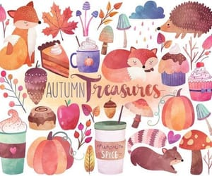 autumn, fall, and art image