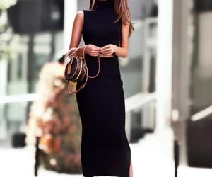 Louis Vuitton, style, and black image