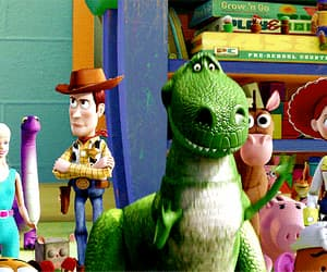 animation, gif, and toy story image
