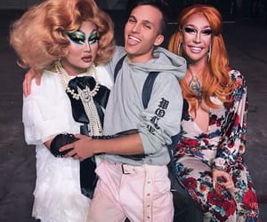 drag queens, kim chi, and rpdr image