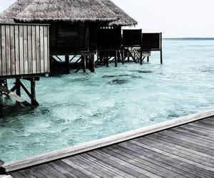 travel, sea, and water image