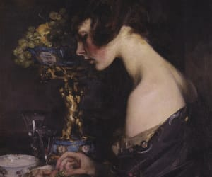 James Jebusa Shannon and the sevres vase image