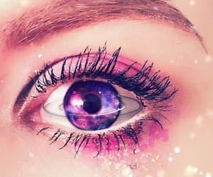 beauty, galaxy, and glitter image