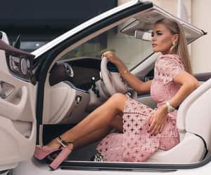 car, fashion, and pink image