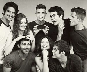 teen wolf, tyler posey, and dylan o'brien kép