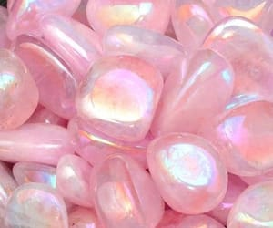 pink, aesthetic, and stone image