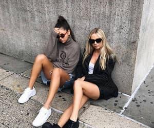 girl, selena gomez, and friends image