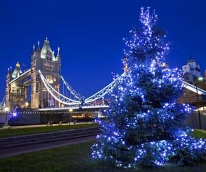 christmas, places, and lights image