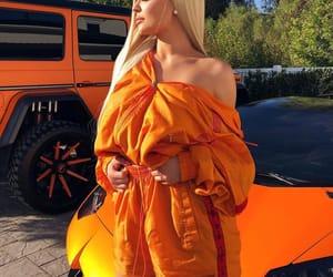 kylie jenner, orange, and jenner image