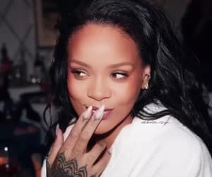 fashion, makeup, and rihanna image