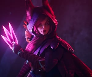 league of legends and xayah image