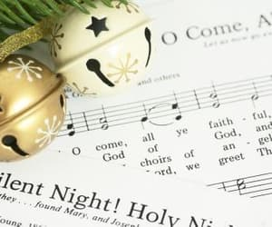christmas, music, and songs image