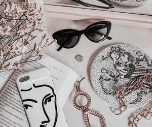 accessories, flatlay, and jewelry image