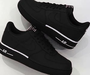 AF1, black, and airforce1 image
