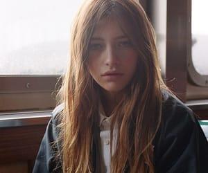 girl, long, and redhead image