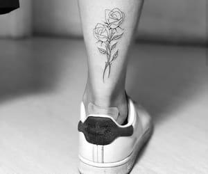 rosas, tatuajes, and tatuaje image