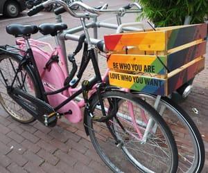 amsterdam, bicycle, and bike image