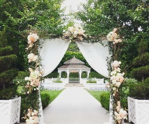 arch, ceremony, and cottage image