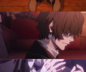 osamu, bungou stray dogs, and dazai image