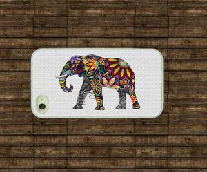 colors, elephant, and wood image