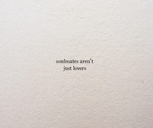 lovers, qoute, and soulmates image