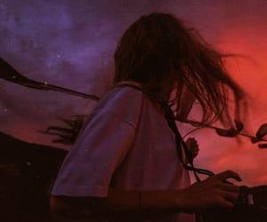 adventure, girl, and night image