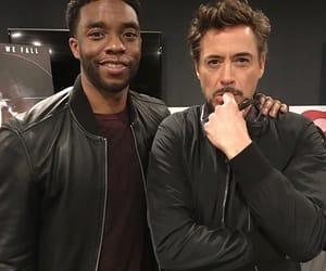 black panther, iron man, and Marvel image