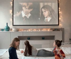 girl and harry potter image