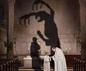 catholicism, predator, and priest image