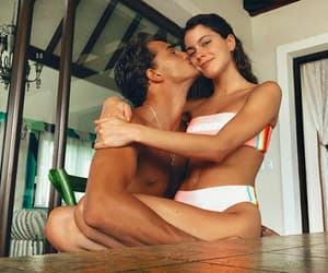couple, in love, and happy image