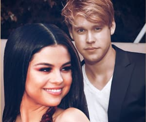 selena gomez and chord overstreet image