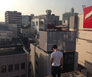 aesthetic, boy, and city image