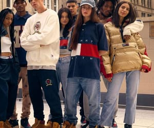 fashion, models, and tommy hilfiger image