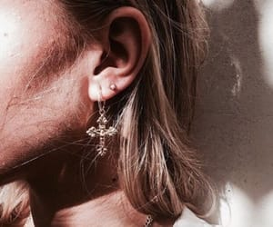 earrings, accessories, and blonde image