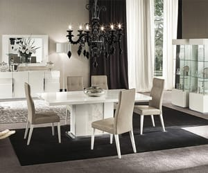 dining table, wooden dining table, and italian dining table image