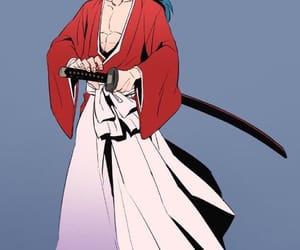 anime, sword, and rurouni kenshin image
