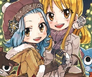 fairy tail, lucy heartfilia, and levy mcgarden image