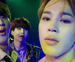 jin, yoongi, and jimin image