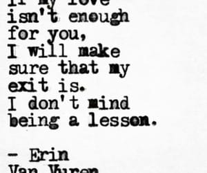 enough, erin, and exit image